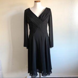 Adrianna Papell Formal Black embellished dress